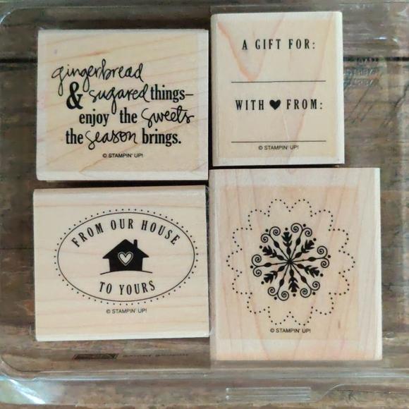 Stampin' Up Sweet Season Rubber Stamp Set